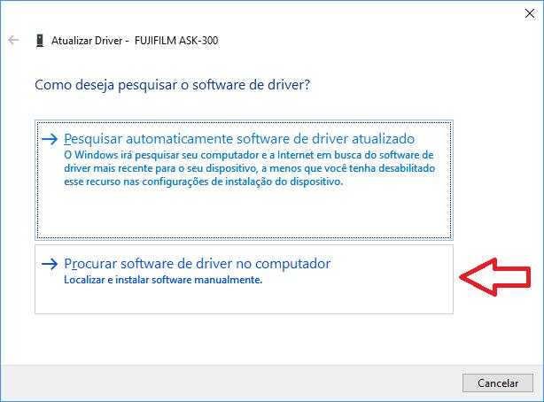 Atualizar Driver