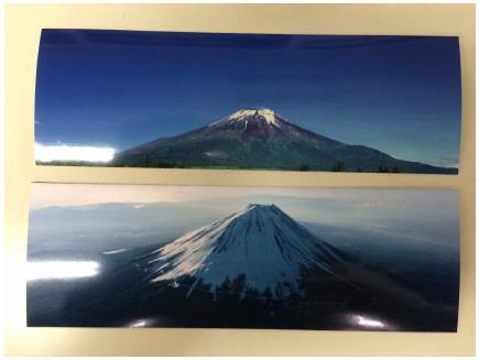 Fotos impressas no formato de Foto tirinha do tipo 1