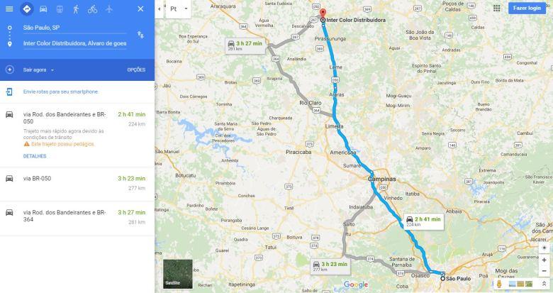 Ver rotas pelo Google Meu Negócio - integração com o Google Maps